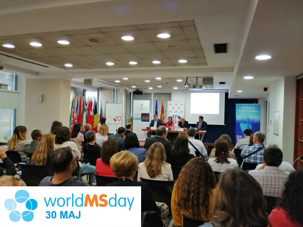 Одбележување на Светскиот ден на мултипла склероза